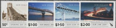 NZ SG3138-41 50th Anniversary of Auckland Harbour Bridge set of 4